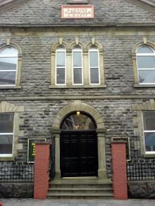 Tabernacle church Porth